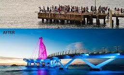 Inauguran Nuevo Muelle De La Playa Los Muertos Puerto Vallarta